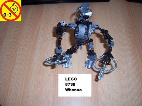 LEGO ® Technic Bionicle Set 8738 - Metru Nui - Toa Hordika Whenua gebr.