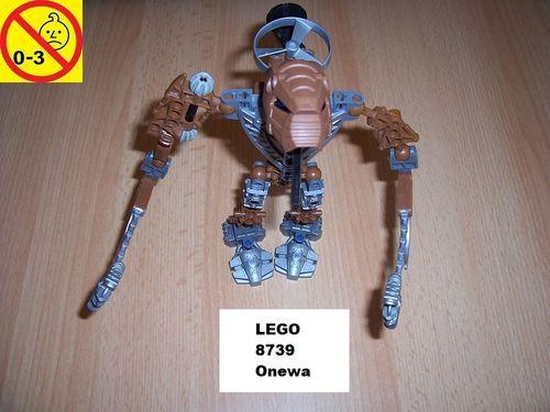 LEGO ® Technic Bionicle Set 8739 - Metru Nui - Toa Hordika Onewa gebr.