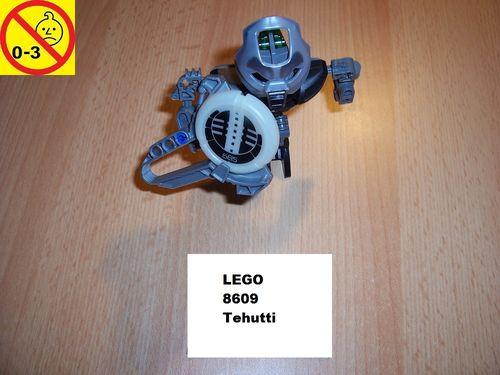 LEGO ® Technic Bionicle Set 8609 - Metru Nui - Matoran Tehutti gebr.