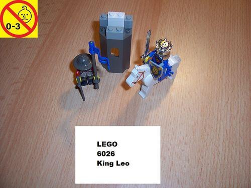 LEGO ® Castle / Knights Kingdom / Ritter Set 6026 - King Leo gebr.
