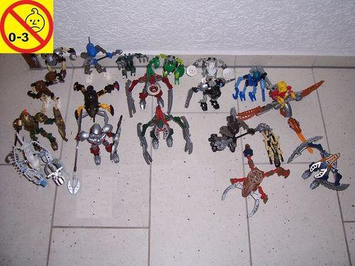 LEGO ® Technic Bionicle Set 19x Sets aus 8513 - 8905 Sammlung Paket Konvolut gebr.