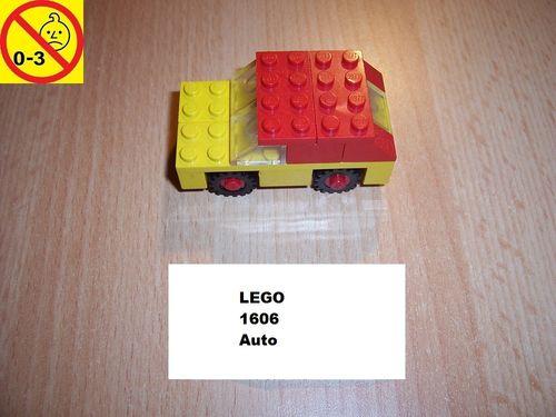 LEGO ® System / City Set 1606 - Car - Auto gebr.