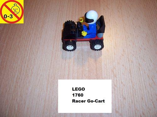 LEGO ® System / City Set 1760 - Racer Go-Cart - Gokart  Auto gebr.