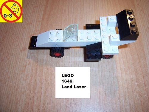 LEGO ® System / City Set 1646 - McDonalds Land Laser - Rennauto Auto gebr.