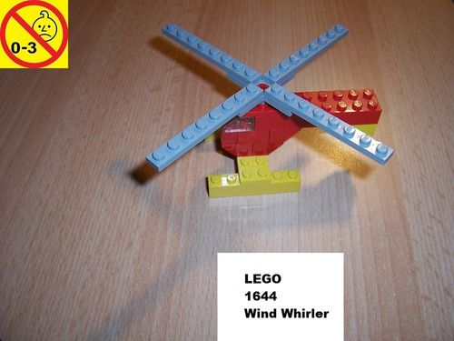 LEGO ® System / City Set 1644 - McDonalds Wind Whirler - Heli Hubschrauber gebr.