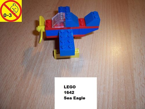 LEGO ® System / City Set 1642 - McDonalds Sea Eagle - Wasserflugzeug gebr.