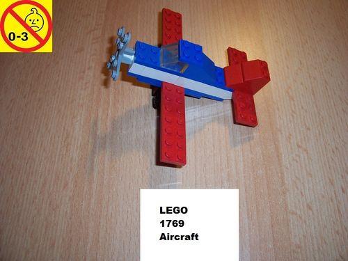 LEGO ® System / City Set 1769 - Aircraft - Flugzeug gebr.