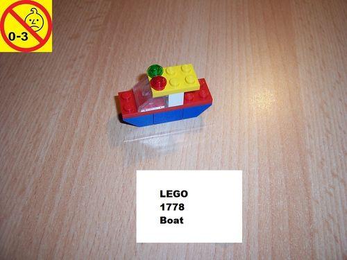 LEGO ® System / City Set 1778 - Boat - Schiff Boot gebr.