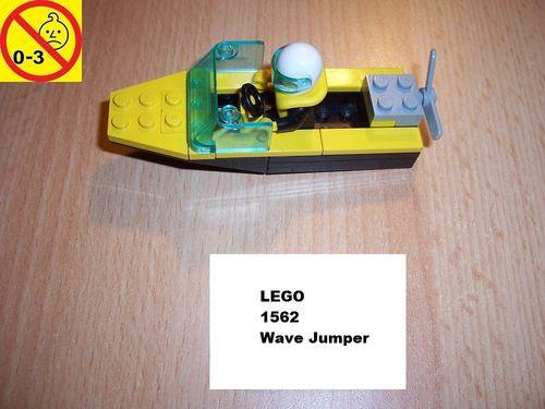 LEGO ® System / City Set 1562 - Wave Jumper - Schiff Boot gebr.