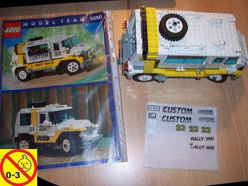 LEGO ® System / Technic / Model Team Set 5550 - Custom Rally Van + BA gebr.
