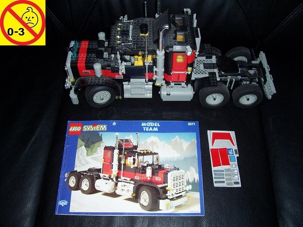 Lego System Technic Model Team Set 5571 Black Cat Giant