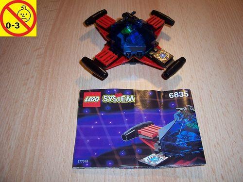 LEGO ® System / Space / Weltraum Set 6835 - Saucer Scout - Raumschiff gebr.