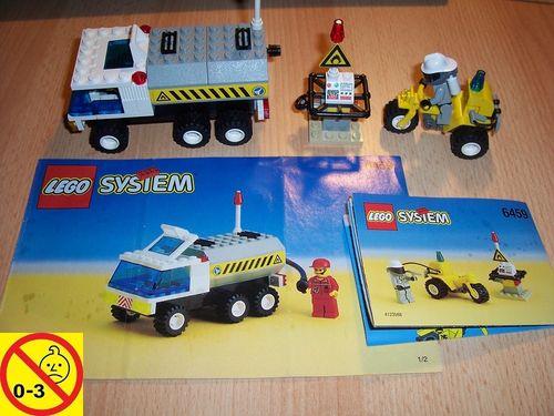 LEGO ® System / City Set 6459 - Space Shuttle Space Port Fuel Truck - Tankwagen + BA gebr.