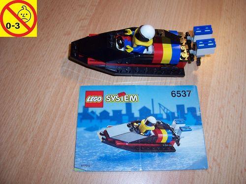 LEGO ® System / City Set 6537 - Hydro Racer Speedboot Schiff + BA gebr.
