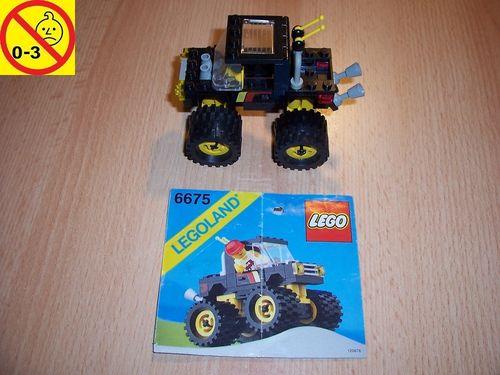 LEGO ® System / City Set 6675 - Road & Trail 4 X 4 - Monster-Truck Jeep Geländewagen Auto + BA gebr.