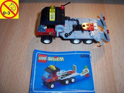 LEGO ® System / City Set 6434 3/6 - Roadside Repair Truck - Abschleppwagen + BA gebr.
