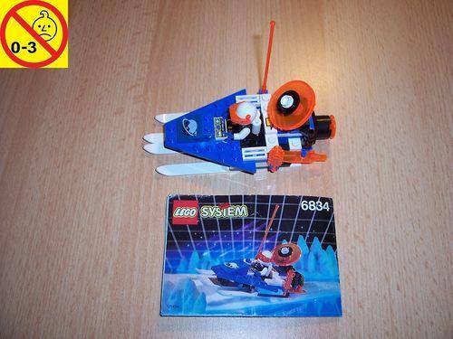 LEGO ® System / Space / Weltraum Set 6834 - Ice Planet Celestial Sled - Patrolien Schlitten gebr.