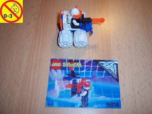 LEGO ® System / Space / Weltraum Set 6814 - Ice Planet Ice Tunnelator - Tunnelbohrer gebr.