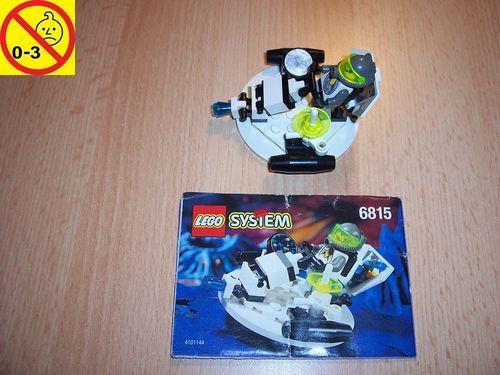 LEGO ® System / Space / Weltraum Set 6815 - Exploriens Hovertron - Raumgleiter gebr.