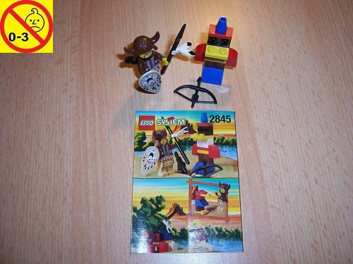 LEGO ® System / Western Set 2845 - Wild West Indian Chief - Indianer Häuptling + BA gebr.