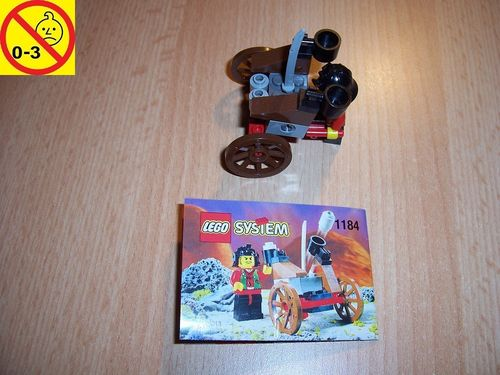 LEGO ® Castle / Ninja Set 1184 - Ninja Blaster - Samurai Katapult + BA gebr.