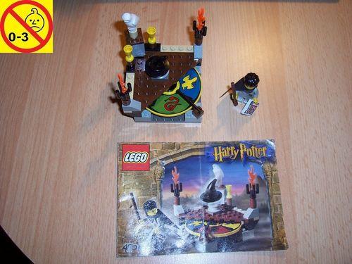 LEGO ® System / Harry Potter und der Stein der Weisen 4701 Sorting Hat Der sprechende Hut + BA gebr.