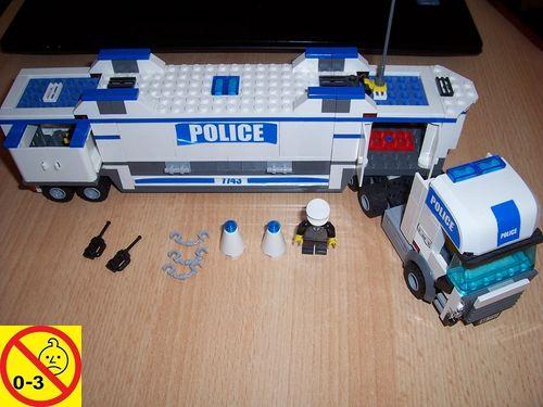 LEGO ® System / City Set 7743 - nur Polizei Truck LKW Police gebr.