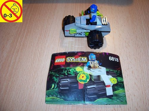LEGO ® System / Space / Weltraum Set 6818 - UFO Cyborg Scout - Alien Patroliengleiter + BA gebr.
