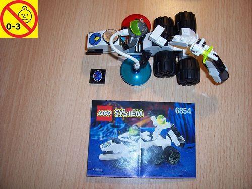 LEGO ® System / Space / Weltraum Set 6854 - Exploriens Alien Fossilizer + Alien Forschung + BA gebr.