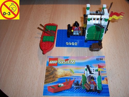 LEGO ® System / Pirate / Piraten Set 6244 - Armada Sentry - Speicherturm + BA gebr.