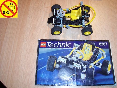 LEGO ® Technic Tech Play Set 8207 - Dune Duster / Hawaiian Beach Racer + BA gebr.