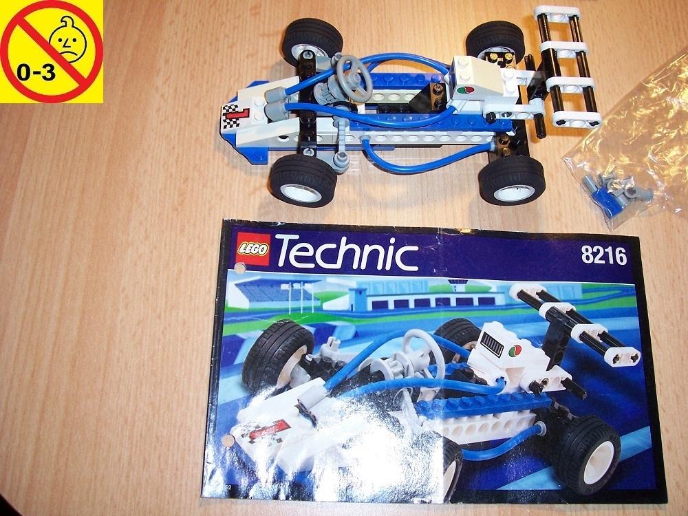 Lego Technic Tech Play Set 8216 Turbo I Rennauto 1 Octan Ba