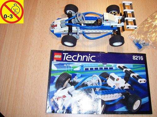 LEGO ® Technic Tech Play Set 8216 - Turbo I - Rennauto 1 Octan + BA gebr.