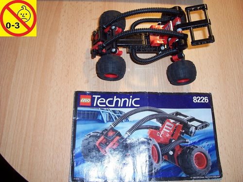 LEGO ® Technic Tech Play Set 8226 - Mud Masher / Desert Stormer + BA gebr.