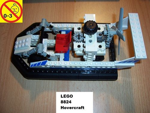LEGO ® Technic Set 8824 - Hovercraft - Luftkissenboot gebr.