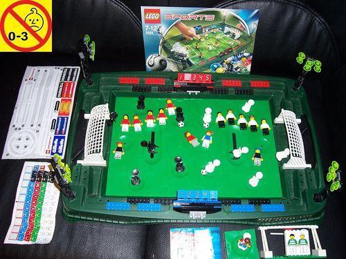 LEGO ® System / Sports / Soccer / Fußball Set 3569 - Grand Soccer Stadium Fußballstadion + BA gebr.