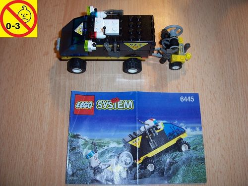 LEGO ® System / City Set 6445 - Emergency Evac - R.E.S. Q Bergrettung Bergungstruck Auto + BA gebr.