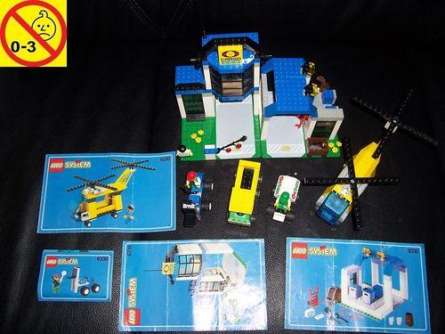 LEGO ® System / City Set 6330 - Cargo Center - Frachtzentrum + BA gebr.