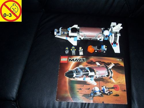 LEGO ® System / Space / Weltraum Set 7315 - Life On Mars Solar Explorer - Raumschiff + BA gebr.