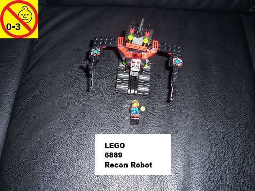 LEGO ® System / Space / Weltraum Set 6889 - Spyrius Recon Robot Multifunktionsroboter Roboter gebr.