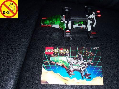 LEGO ® System / Space / Weltraum Set 6897 - Space Police II Rebel Hunter - Raumschiff + BA gebr.
