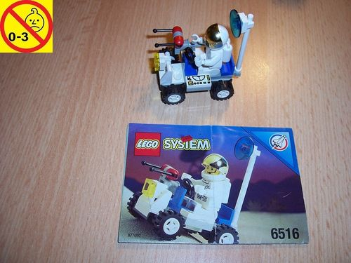 LEGO ® System / Space / Weltraum Set 6516 - Launch Command Moon Walker - Mondfahrzeug + BA gebr.