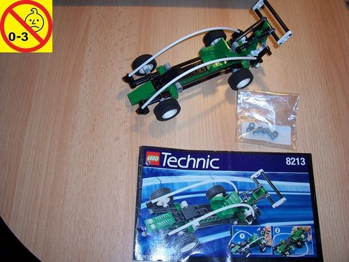LEGO ® Technic Racers Set 8213 - Spy Runner - Rennwagen + BA gebr.