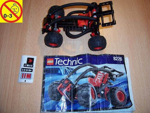 LEGO ® Technic Tech Play Set 8226 - Mud Masher / Desert Stormer + BA + Stickersheed gebr.