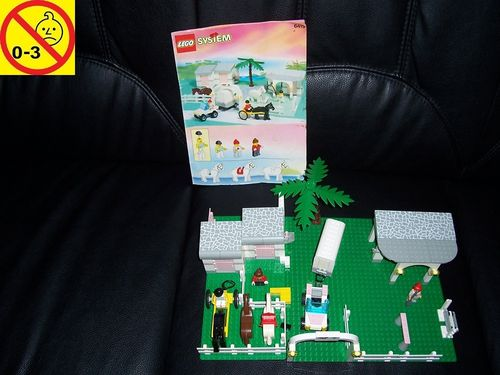 LEGO ® System / City Set 6419 - Paradisa Rolling Acres Ranch - Paradis Reiterhof + BA gebr.
