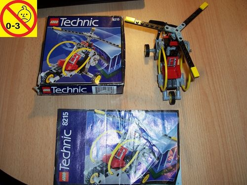 LEGO ® Technic Tech Play Set 8215 - Gyro Copter - Hubschrauber Heli + BA + OVP gebr.