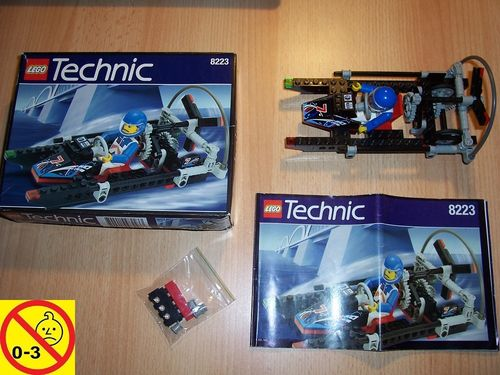 LEGO ® Technic Tech Play Set 8223 - Hydrofoil 7 Powerboat Columbia Boot Schiff + BA + OVP gebr.
