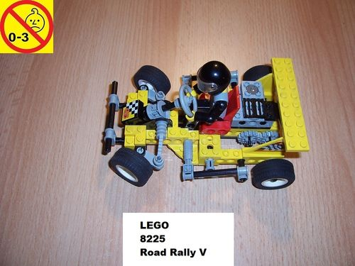 LEGO ® Technic Tech Play Set 8225 - Road Rally V - Super Kart Nr. 5 Rennwagen gebr.