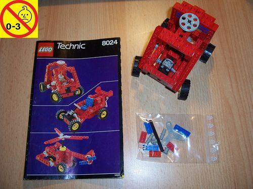 LEGO ® Technic Set 8024 - Universal Building Set Auto Hubschrauber + BA normal gebr.