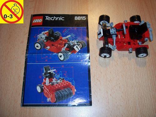 LEGO ® Technic Racers Set 8815 - Speedway Bandit - Rennwagen Kart Nr. 1 + BA gebr.
